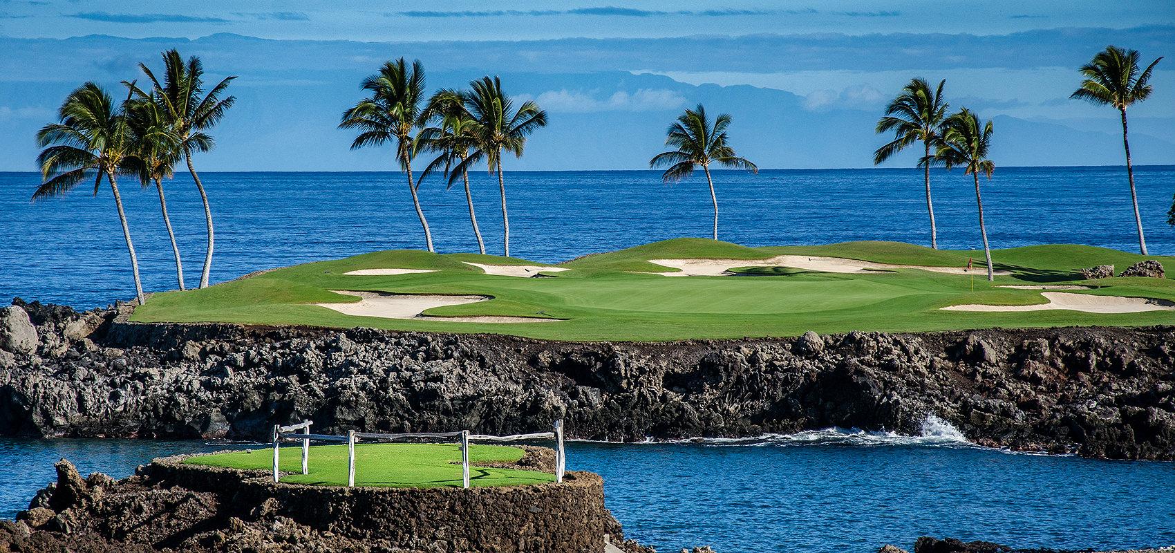 Big Island & Waikiki Hawaii ladies golf tour