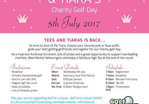 Tees & Tiaras Charity Gofl Day