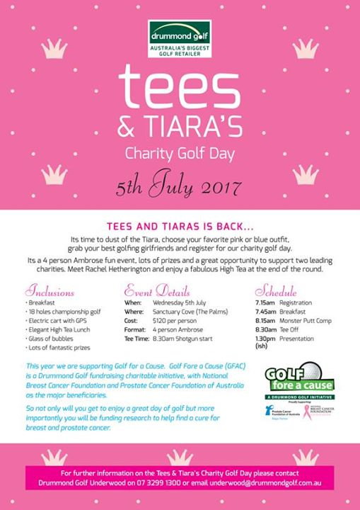 Tees & Tiaras Charity Golf Day