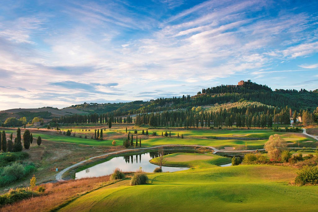 Italian golf tour