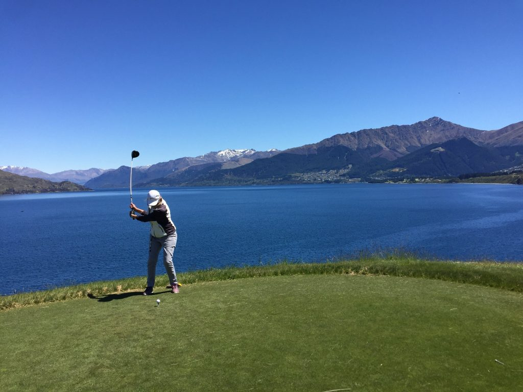 Queenstown golf holiday